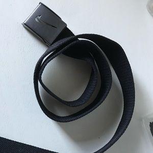 """Men's Nike Belt - 41"""" - Black w/ Steel Buckle"""